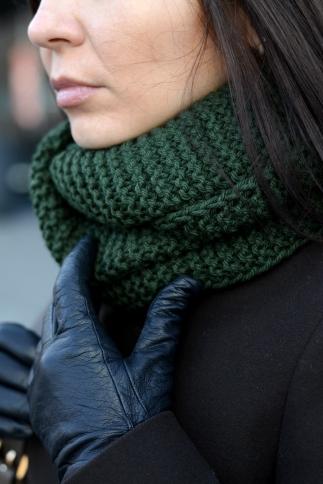 cozy infinity scarf //ShopLaLune